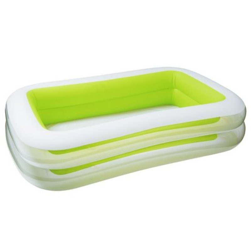 Piscina Inflable Rectangular Familiar 2.62x1.75x 56 Cm Intex