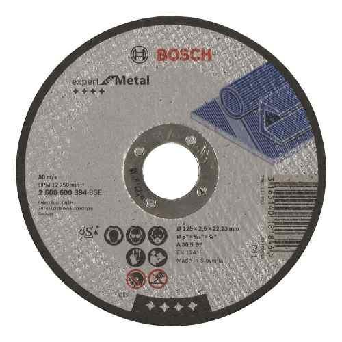 Disco Abrasivo Corte  Cto Recto 5 X1/8  Bosch