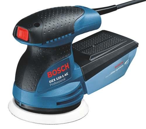 Lijadora Excéntrica Control Electrónico Gex 125-1 Ae Bosch