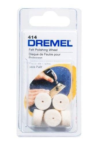 Dremel Accesorio Discos Fieltro 414 1/2 In 6 Un