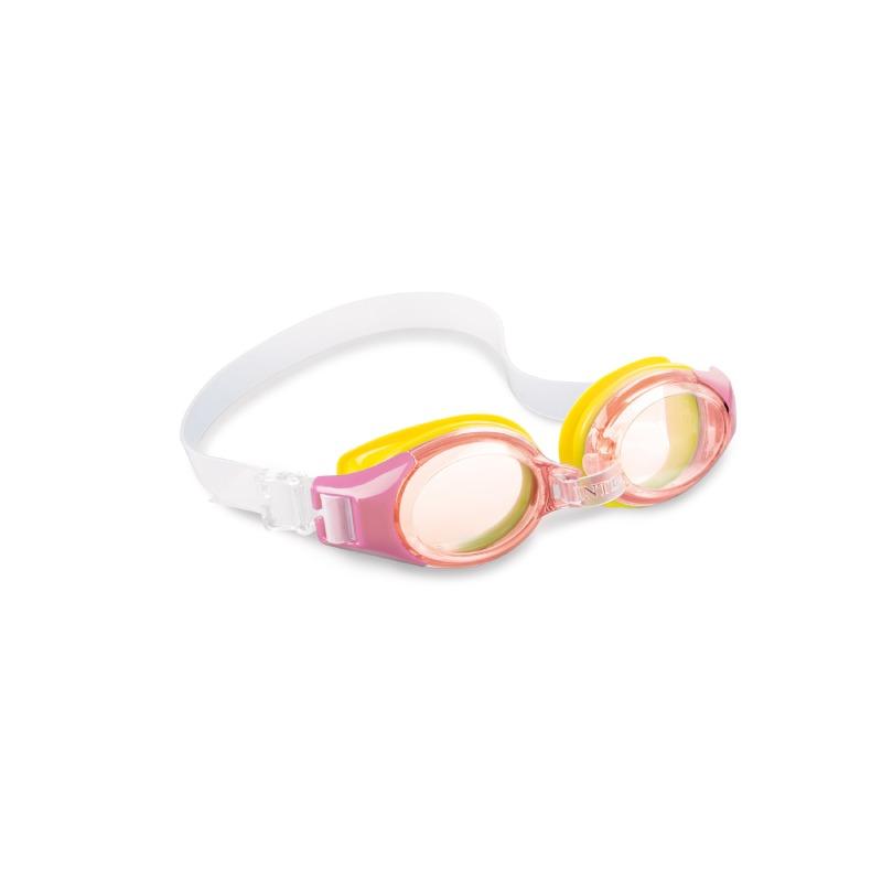 Goggles Para Natacion Policarbonato Para Niños Rosas Intex