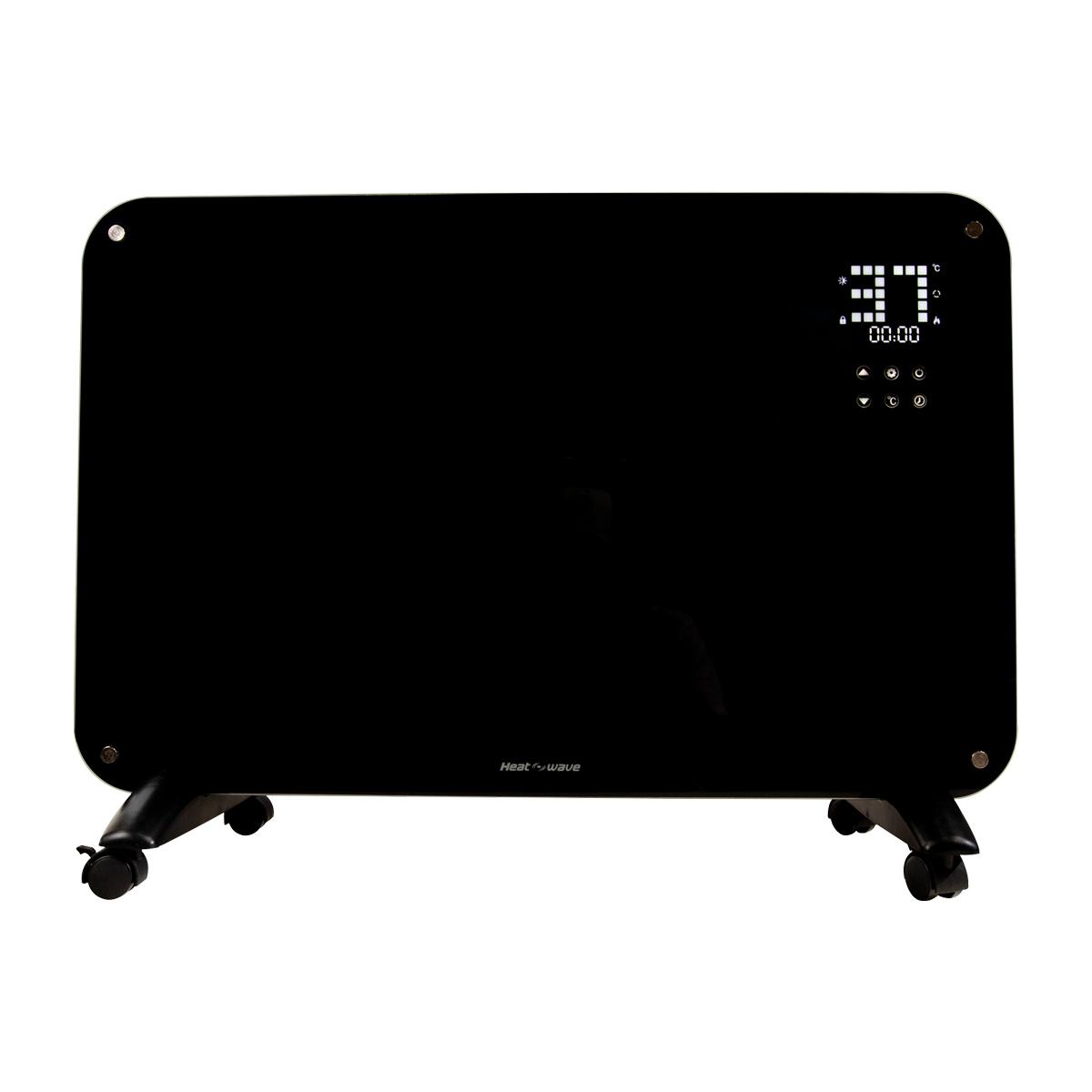 Calefactor Electri Minimalista Pantalla LED Touch Heat wave