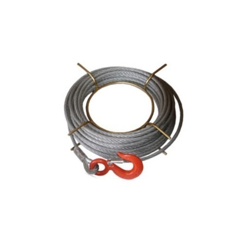 Repuesto Para Tirfor Cable 20 M Con Gancho 8 Mm