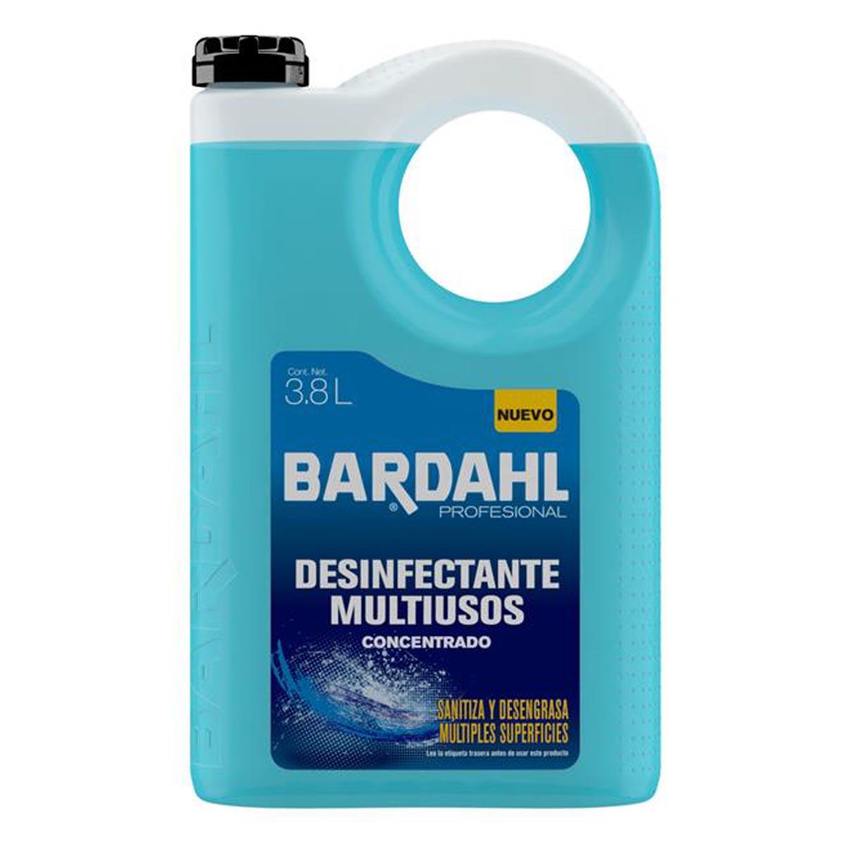 Desinfectante Multiusos Industrial Concentrado 3.7L Bardahl