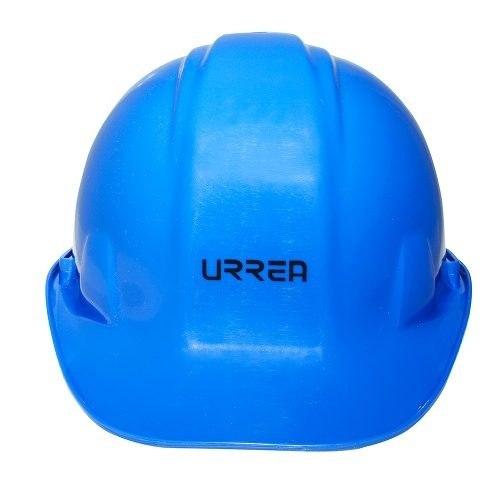 Casco De Seguridad Con Ajuste De Matraca Azul Urrea