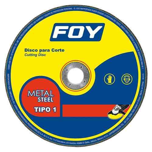 Disco T/1 Metal 9x3mm 143526 Foy
