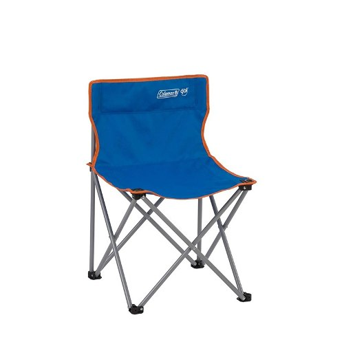 Silla Quad Sin Brazos Fiesta Go Azul R Borde Naranja Coleman