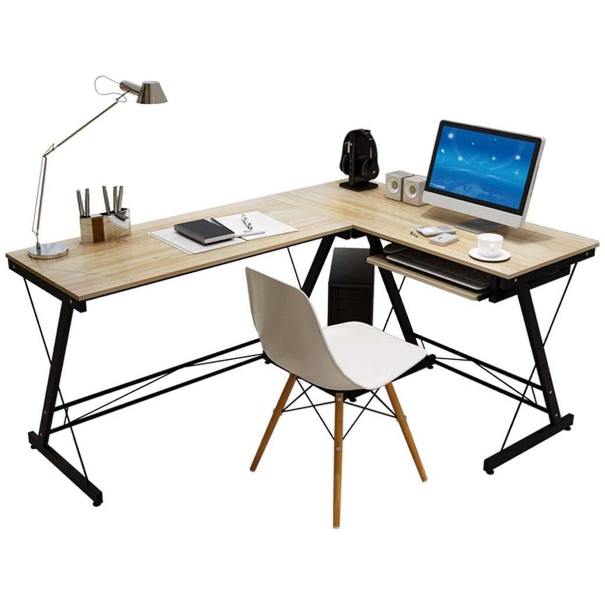 Escritorio Estudiantil L Moderno Computadora Hogar Oficina