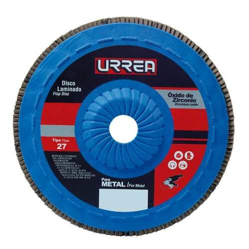 Disco Laminado 4 1/2 X7/8  13,300 Rpm, Grano 120 Fd4512p