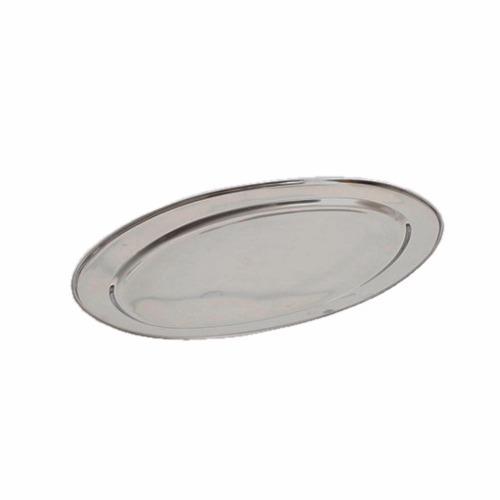 Platon Oval En Acero Inoxidable De 40 Cm Namaro Design