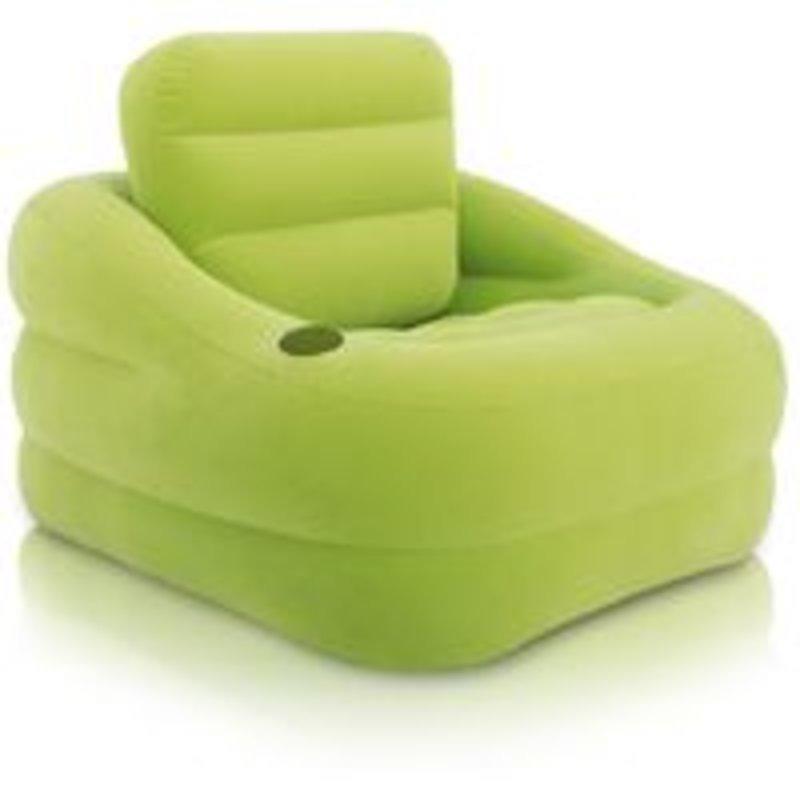 Sillón Inflable Estabilizado Verde 68586 Intex