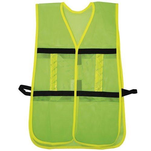 Chaleco Seguridad Malla Ajustable Gancho Verde 137492 Surtek