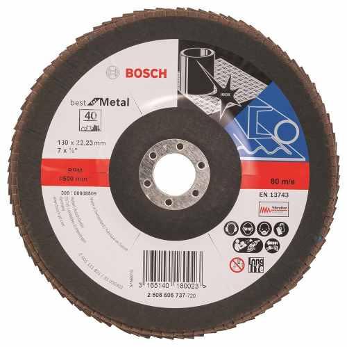 Disco Flap Curvo  7  G40 Bosch