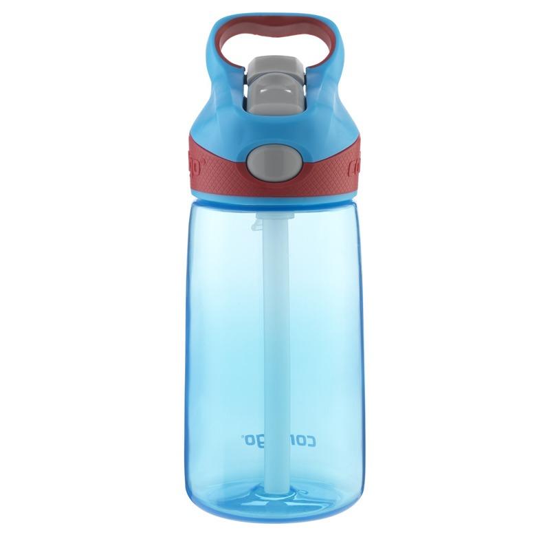 Botella Escolar Para Niños 14 Oz Autospout Azul Contigo