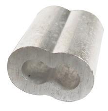 Casquillo Doble Aluminio 5/16 Pulgada Con 50 Piezas Ash Obi