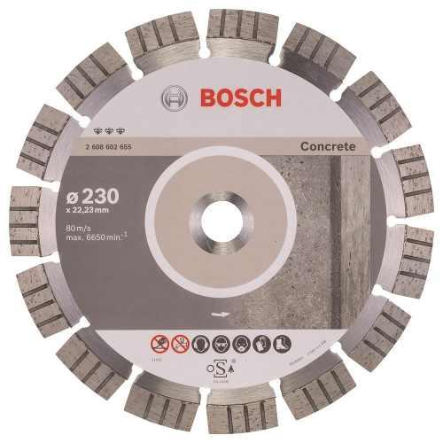Disco Diam. Best Concreto Segmentado 9  Bosch
