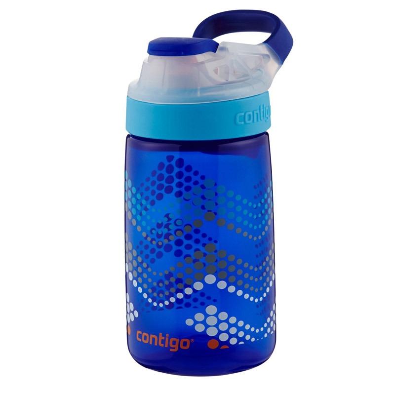 Botella Escolar Para Niños 14 Oz Autoseal Gizmo Azul Contigo