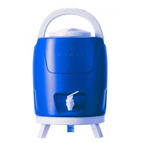 Termo Insulado 9 Lts Azul Para Frio Y Caliente Con Soportes