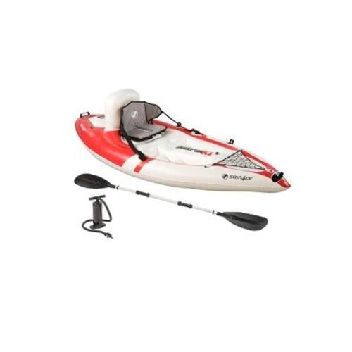 Kayak K1 Descubierto Quikpak 1 Per Con Remo Y Bomba Sevylor