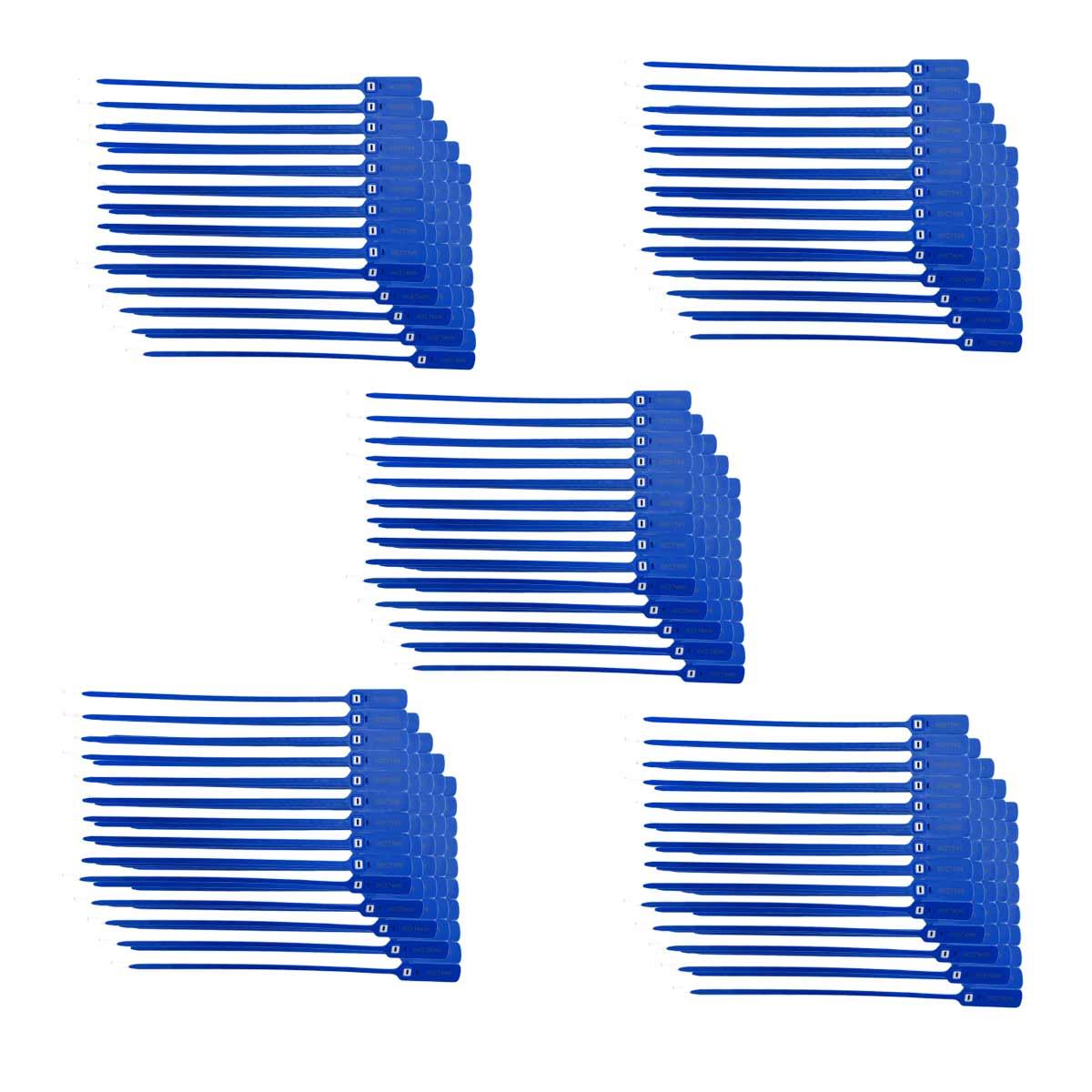 Sellos De Seguridad Cinchos 40CM Folio Inserto Metal 500 Pzs