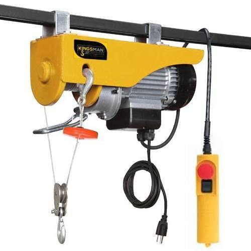 Polipasto Electrico Cable 20m Carga 100 A 200 Kilos 110v