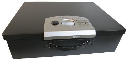 Caja De Seguridad Para Dinero Combinacion Numerica 23cm