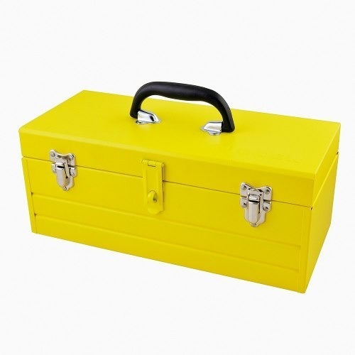 Caja Portaherramientas Metálica 40x18.2x16.3cm Surtek