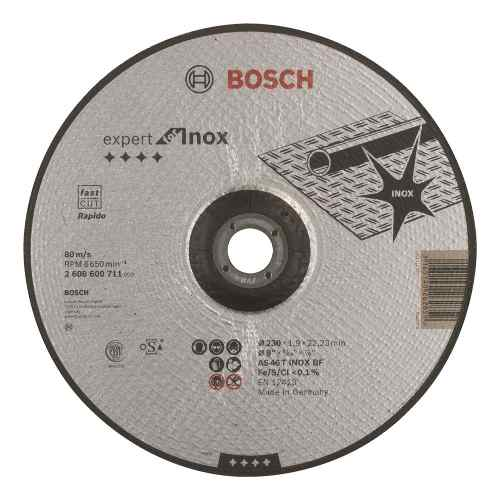 Disco Abrasivo Corte Exp Inox Cto Deprimido 9 X5/64 Ud Bosch