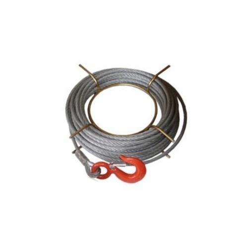 Repuesto Para Tirfor Cable 20 M Con Gancho 11 Mm