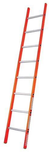 Escalera Recta Fibra De Vidrio 8 Peldaños Tipo Iii 429308