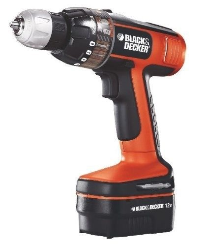 Taladro Atornillador 3/8  12 V 83 Pz Ps12pka Black & Decker