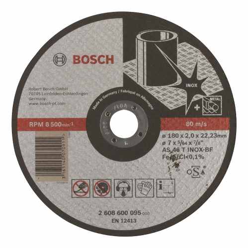 Disco Abrasivo Corte Expert Inox Cto Recto 7 X5/64  Bosch