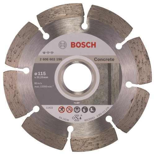 Disco Diam. Professional Concreto Segmentado 4 1/2  Bosch
