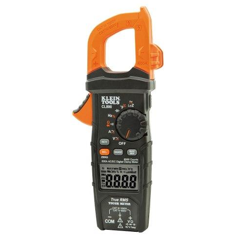 Multímetro  Gancho Ca/cd+trms+baja Impedancia Cl800