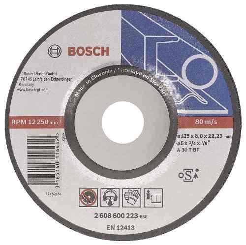Disco Abrasivo Desbaste Exp Metal Cto Deprimido 7 X1/4 Bosch