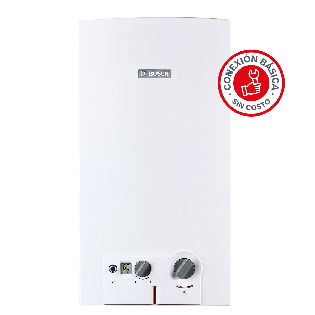 Calentador Instantaneo 13 L Gas LP 2 Servicios Hogar Bosch