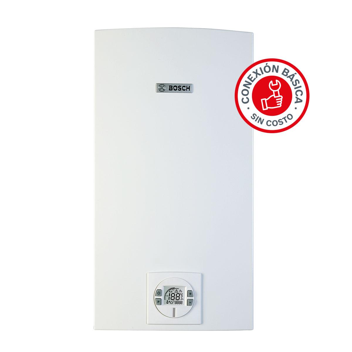 Calentador Boiler Instantaneo 4Servicios Plus Easy Gas Bosch