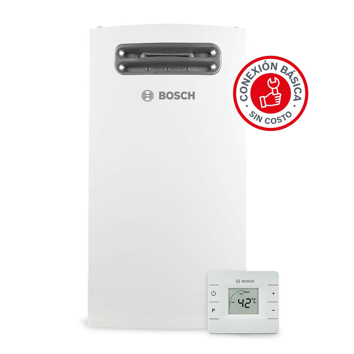 Calentador De Paso 4 Servicios Compact Out 20 Gas Lp Bosch