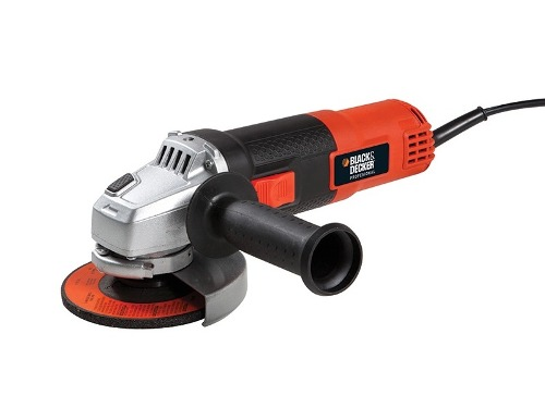 Esmeril Angular 4 1/2  820 W Con Estuche G720 Black & Decker
