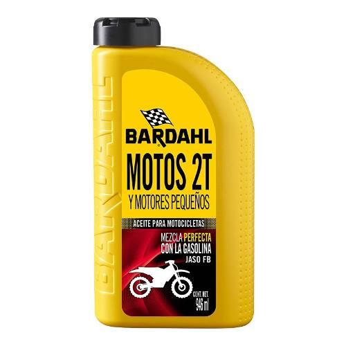 Aceite Lubricante Para Motocicleta Motores 2 Tiempos Bardahl