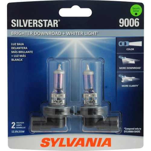 Foco Frontal Sylvania 9006 Silverstar Halogeno Luz Blanca 2p