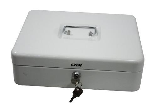 Caja De Seguridad Para Dinero C/3 Divisiones Y Billetes 30cm