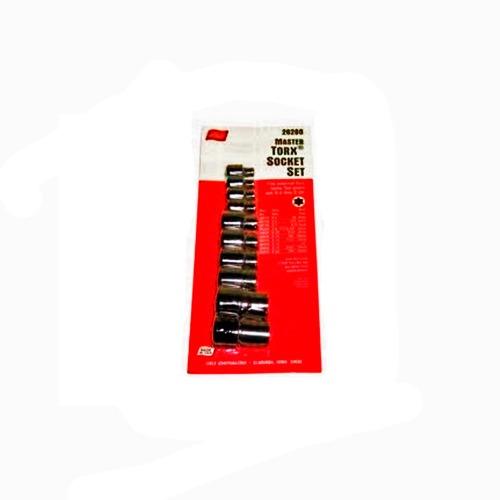 Dado Torx Externo E5-20 Juego 10 Piezas  26280 Lisle