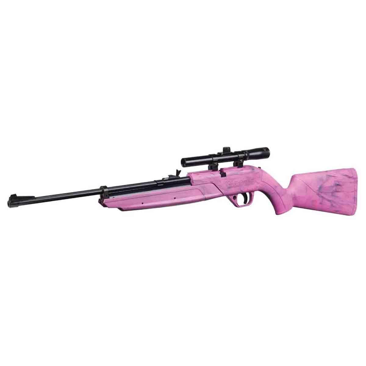 Rifle Bombeo Calibre 4.5MM 4x15 Tiro Deportivo Caza Crosman