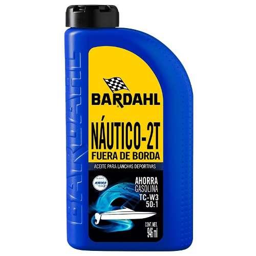 Lubricante Motor De Lancha Y Sierra 2 Tiempos Bardahl