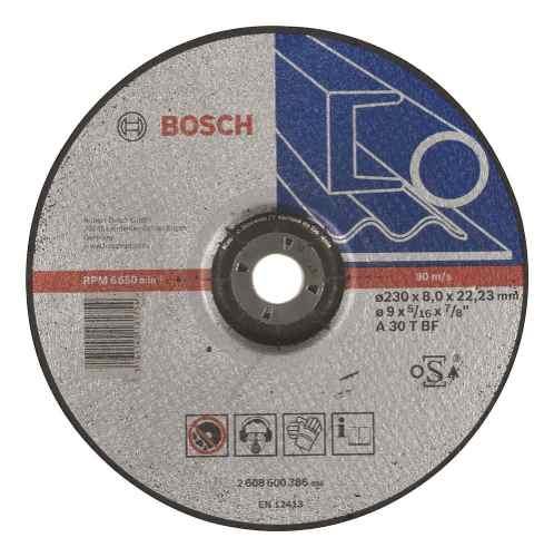 Disco Abrasivo Desbaste  Cto Dep 9 X5/16  Bosch