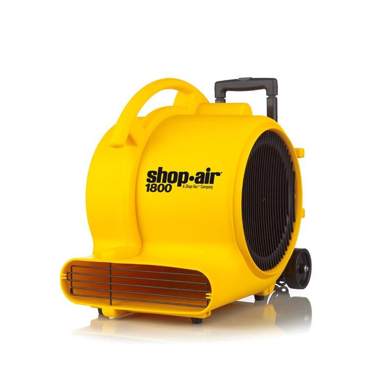 Secador Soplador De Piso Tapete Industrial 1800 Cfm Shop Vac