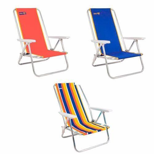 Silla Apoyabrazos Lounge Beach Fiesta Go Playa Coleman