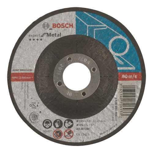 Disco Abrasivo Corte Exp Metal Ctodeprimido 4-1/2 X1/8 Bosch