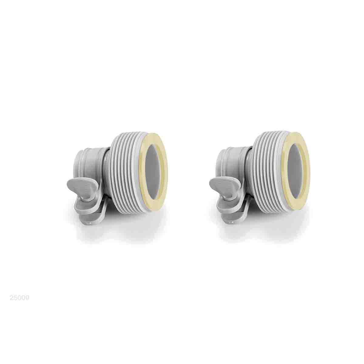 Abrazadera Tipo B 2 Pzs filtro Alberca Piscina Jardin Intex